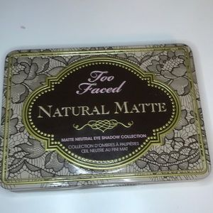 Too Faced Natural Matte Palette!